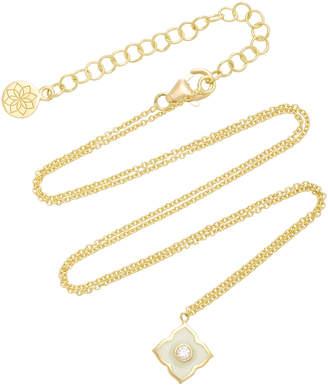 Amrapali Panashri 18K Gold and Diamond Necklace