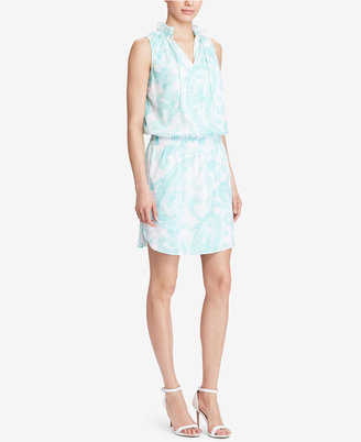 Lauren Ralph Lauren Paisley-Print Sleeveless Dress $145 thestylecure.com