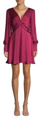 Bardot Claire Twist A-Line Dress