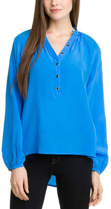 Yumi Kim Trinia Blue #2 Silk Top