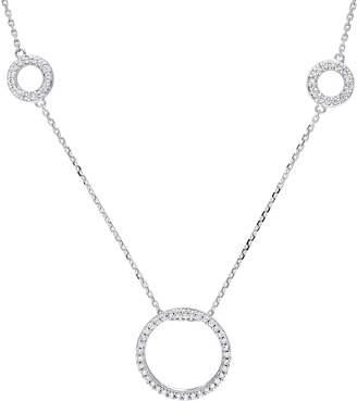 Affinity Diamond Jewelry Diamond Circle Station Necklace, 14K, 8/10 cttw, by Affinity
