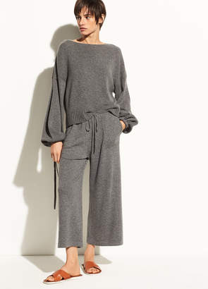 Vince Wide-Leg Wool and Cashmere Crop