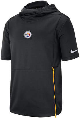 Nike Men's Pittsburgh Steelers Therma Top Short Sleeve Jacket