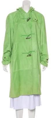 Ralph Lauren Black Label Suede Toggle Coat w/ Tags