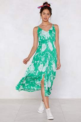 Nasty Gal Can't Let Grow Floral Dress