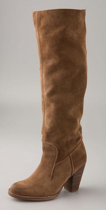 Bronx Footwear Yannick Suede High Heel Boot