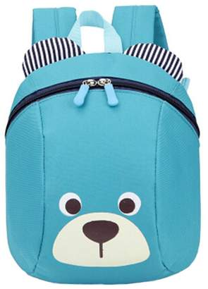 Express Kylin 1-5 years old children shoulder small bag and cute cartoon backpack bag.sky blue