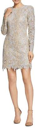 Dress the Population Grace Sequin Embroidered Lace Dress