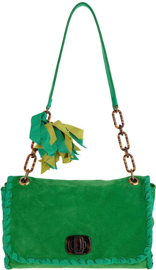 Lanvin Rubanjane GM Bag - Green