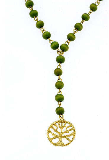 Ettika Small Tree of Life Rosary Chain