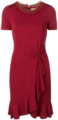 MICHAEL Michael Kors ruched short dress