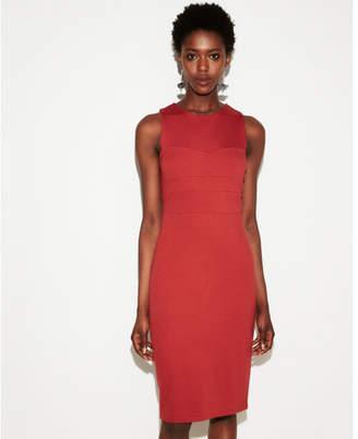 Express seamed sleeveless dress