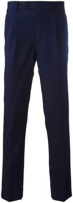 Piombo Mp Massimo Pleated slim fit trousers