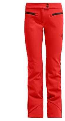 Capranea - Jet Side Stripe Ski Trousers - Womens - Red