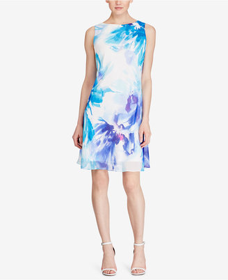 American Living Floral-Print Shift Dress $79 thestylecure.com