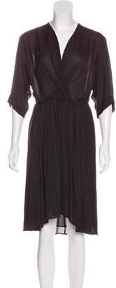 Etoile Isabel Marant V-Neck Midi Dress w/ Tags