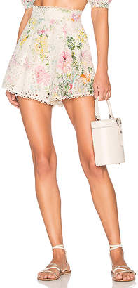 Zimmermann Heathers High Waisted Short