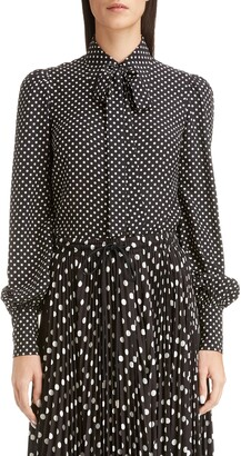 Marc Jacobs THE Polka Dot Silk Blouse