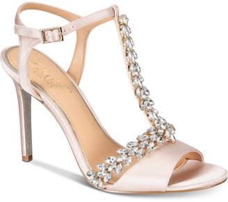 Badgley Mischka Maxi Evening Sandals