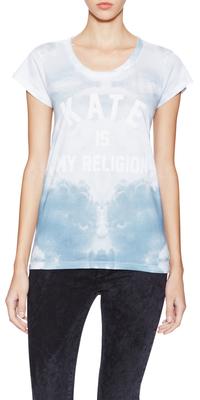 Tie-Dye Short Sleeve T-Shirt $69 thestylecure.com