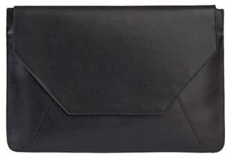 Senreve Pebbled Leather Envelope Clutch