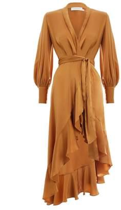 Zimmermann Ninety Six Wrap Dress
