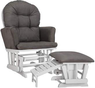 Graco Parker Semi Upholstered Nursing Glider & Ottoman
