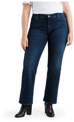 Levi Strauss Women's Plus Classic Straight Jeans