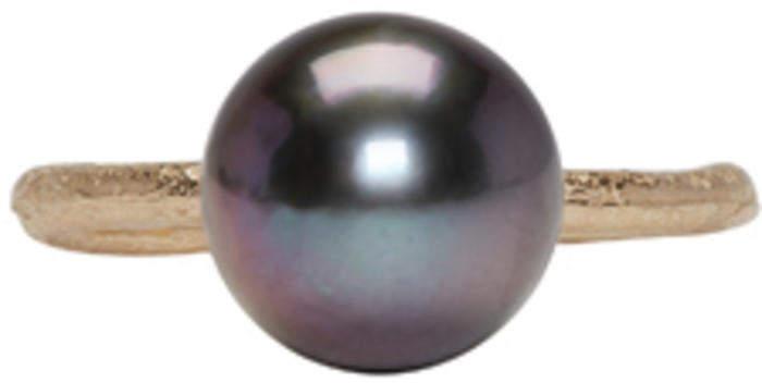 Pearls Before Swine Gold Tahitian Pearl Ring