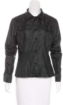 Dolce & Gabbana Coated Fitted Jacket