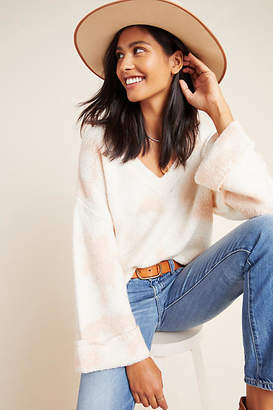 Anthropologie Maggie Bell-Sleeved Sweater