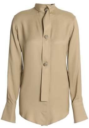 Joseph Silk-Blend Twill Shirt
