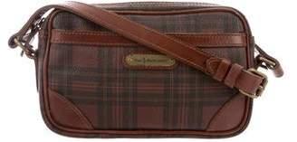 Polo Ralph Lauren Leather-Trimmed Crossbody Bag