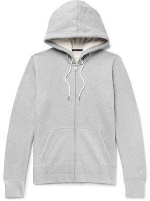 Rag & Bone Standard Issue Mélange Loopback Cotton-Jersey Hoodie