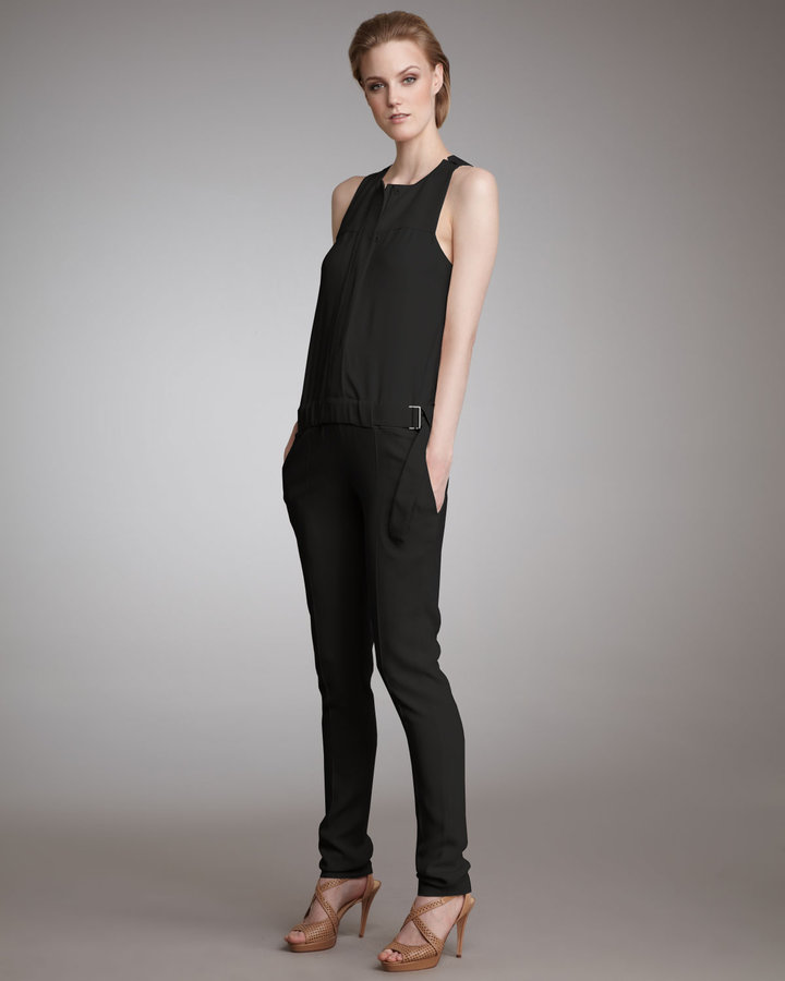 Piazza Sempione Sleeveless Jumpsuit