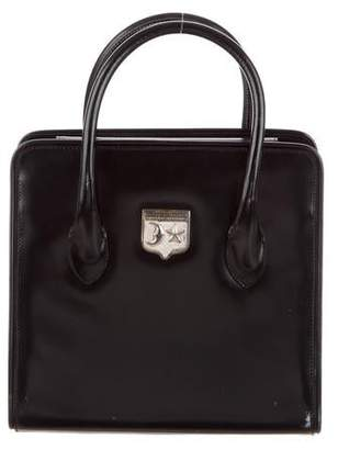Kieselstein-Cord Patent Leather Structured Bag