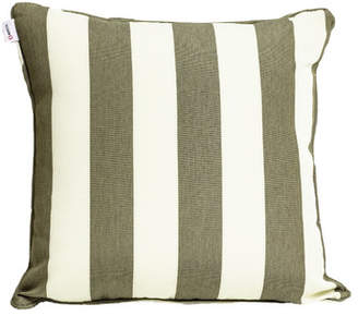 Indo Soul Beige Striped Outdoor Cushion