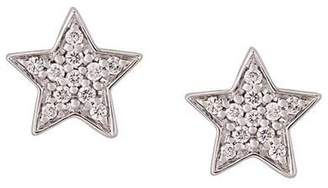 Alinka STASIA MINI Star diamond earrings
