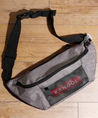 And A (アンド エー) - And A KANGOL カンゴール / ボックスロゴ ウエストバッグ KGSAーBG00038