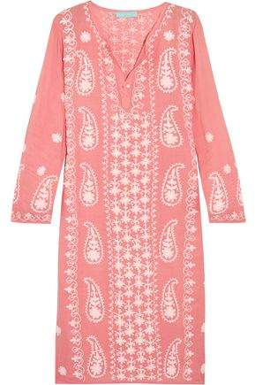 Tanya Embroidered Muslin Kaftan