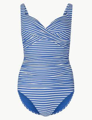 """Marks and Spencer Secret Slimmingâ""""¢ Striped Twisted Swimsuit"""