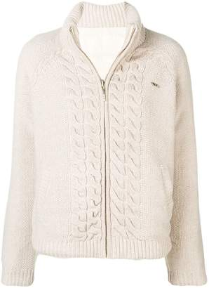 Liu Jo basic zipped cardigan