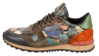 Valentino Rockrunner Butterfly Sneakers