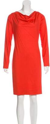 Diane von Furstenberg Bateau Knee-Length Dress
