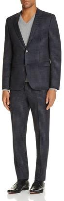 HUGO Box Check Slim Fit Suit $995 thestylecure.com