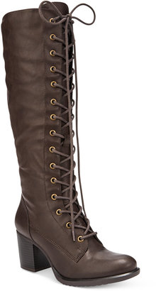 American Rag Lorah Lace-Up Boots, Only at Macy's $109.50 thestylecure.com