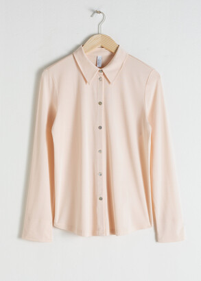 And other stories Straight Fit Button Up Shirt