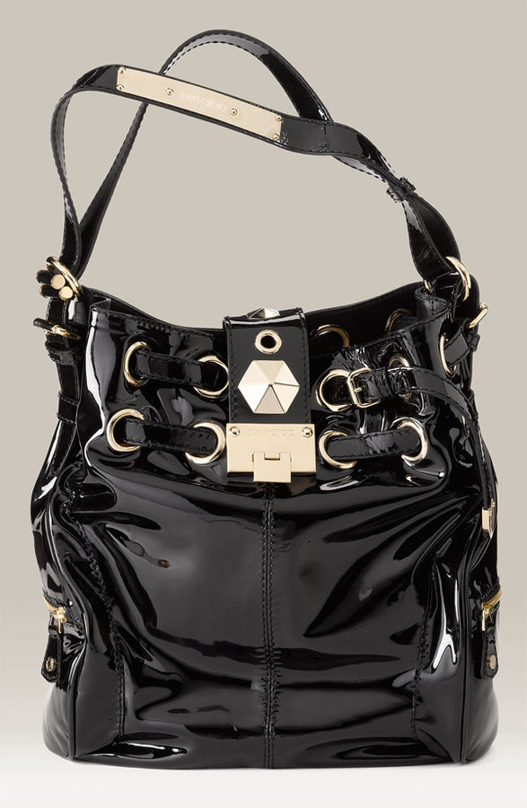 Jimmy Choo 'Ring' Patent Leather Bag
