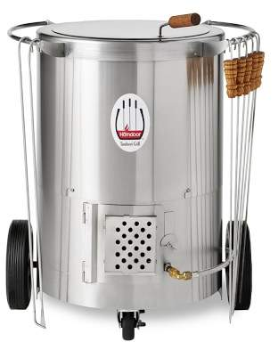 Williams-Sonoma Williams Sonoma Homdoor Stainless-Steel Outdoor Tandoor Oven