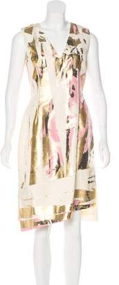 Reed Krakoff Sleeveless Printed Dress